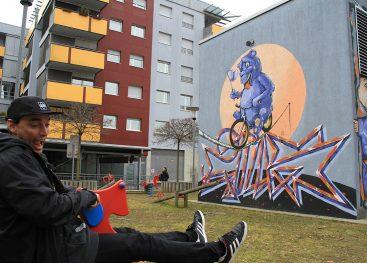 Iz grafitarskih korenin v uživaško službo