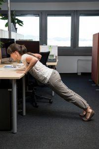 kLemen Razinger Lidl Hana pisarna vaje za zaposlene