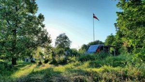 Slika 1- Izgled tabora 22. junij ob 20- 44 uri, osebni arhiv. Vesna Cesar za NavdihniMe, izdaja Insights d.o.o.