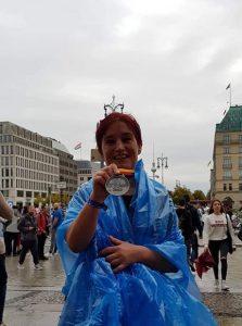 Danijela Brečko Prvih 42 km Berlinski maraton za Navdihni me by Insights d.o.o