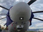 Največji helikopter na zimovanju v Mariboru