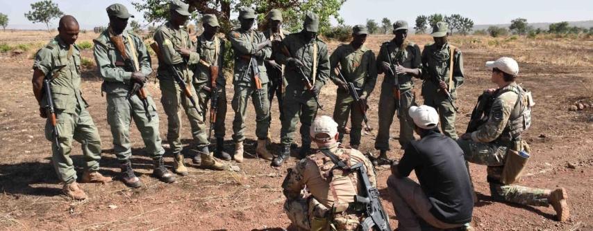 Od vojaškega specialca do mentorja afriških čuvajev parkov