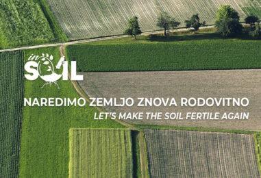 InSoil: Ko izguba službe uresniči sanje o biološkemu kmetovanju